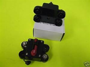 Manual Reset Heavy Duty Circuit Breaker 150 Amp 150a 12