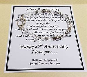 25th wedding anniversary gift for wife With wedding anniversary gift for wife