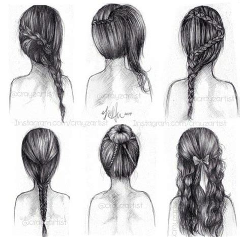 art  braid bun draw drawing drawings draws