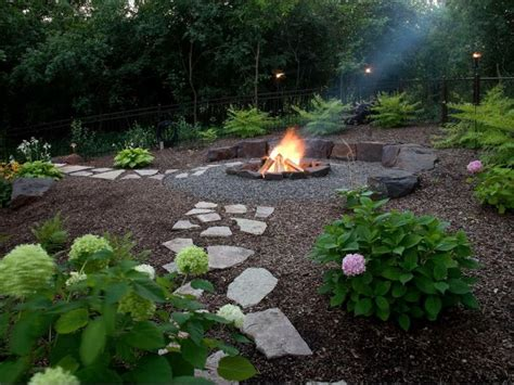 images  wood chip patio  pinterest shade garden fire pits  patio ideas