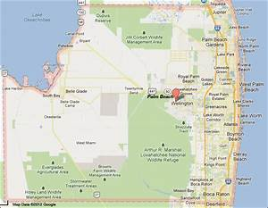 Palm Beach County Florida map