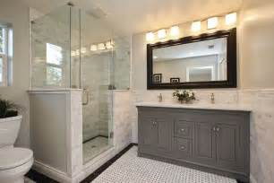 Restoration Hardware Bathroom Vanities And Cabinets by Traditional Master Bathroom With Undermount Sink Amp Raised