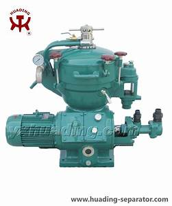 China Disc Stack Centrifuge For Mineral Oil With Self