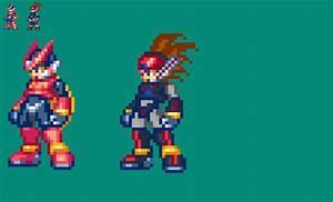 Megaman Zero - Axl by KyujiX on DeviantArt