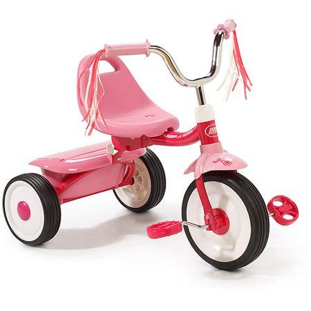radio flyer folding trike pink walmartcom