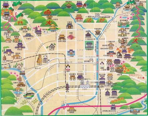 kyoto map google maps