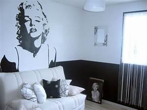 chambre ado noir et blanc With deco maison noir et blanc