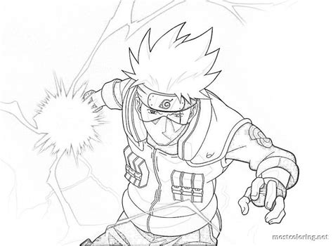 Best Naruto Coloring Pages