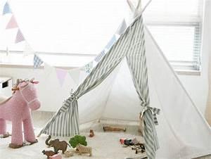 Tipi Chambre Bébé : deco originale pour la chambre de bebe mademoiselle claudine le blog ~ Teatrodelosmanantiales.com Idées de Décoration