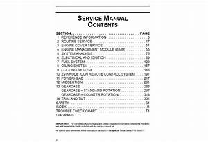 Download Service Manual 2013 Evinrude E