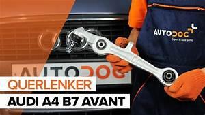 Audi A4 B5 Bremsleitung Vorne : wie audi a4 b7 avant vorne querlenker wechseln tutorial ~ Jslefanu.com Haus und Dekorationen