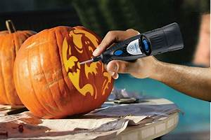 Carving, Pumpkins, With, A, Dremel