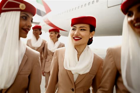 emirate cabin crew the 5 most beautiful airline uniforms of attraction