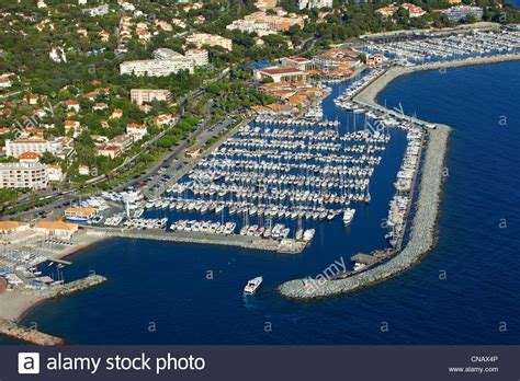 port santa lucia raphael var raphael port of santa lucia aerial view stock photo royalty free image