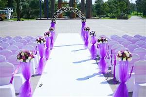 wonderful photos of purple outside wedding decorations With purple wedding decorations ideas