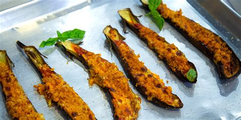 giadas sheet pan eggplant parmesan todaycom