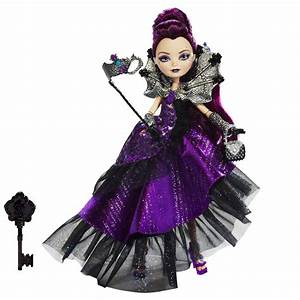 Ever After High Papusa Raven Queen Colectia Thronecoming ...