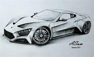 Cool Car Drawings In Pencil | journalingsage.com