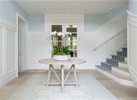 home with classic blue white interiors home bunch