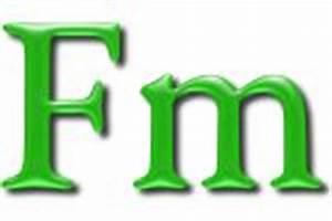 Fermium»the essentials [WebElements Periodic Table]
