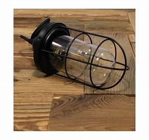 Suspension Ampoule Vintage : suspension vintage verre et cage pour ampoule filament edison st58 ~ Teatrodelosmanantiales.com Idées de Décoration