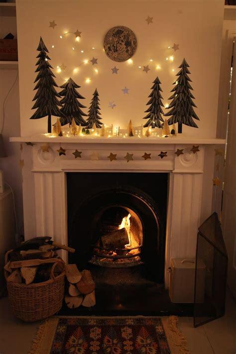 fireplace garland ideas  pinterest mantle