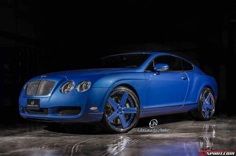 azure blue bentley continental gt  ultimate auto gtspirit