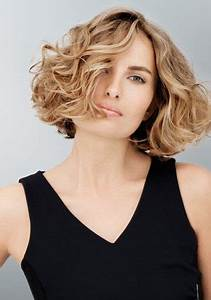 Carré Court Frisé : coiffure carr plongeant cheveux ondul s ~ Melissatoandfro.com Idées de Décoration
