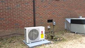 Trane 27 Seer Mini Split Heat Pump By Joe Burns Heating