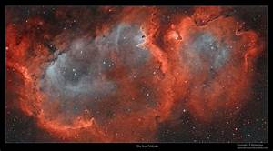 Astro Anarchy: Soul Nebula, IC 1848, as a two frame mosaic