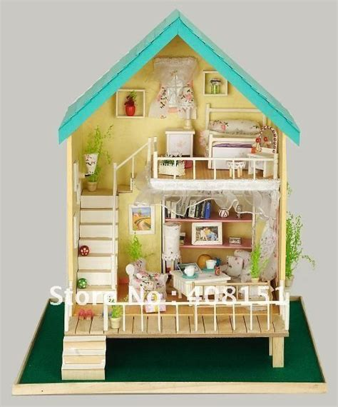 Miniature Dollhouses  Free Shipping Dollhouse Miniature