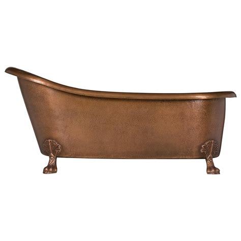 unique kitchen faucet hammered copper clawfoot slipper bathtub coppersmith