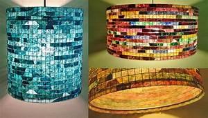 Upcycling Ideen Papier : upcycling ideen bunte lampen aus kaffeefiltern ~ Eleganceandgraceweddings.com Haus und Dekorationen