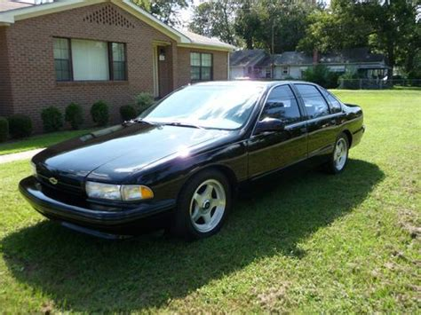 accident recorder 1996 chevrolet caprice security system find used 1996 chevy impala ss black v8 lt1 4 door sedan one owner in waycross georgia