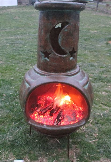 How To Use A Chiminea For Cooking by How To Cook With A Chiminea Clay Fireplace Gt Hanover Koi