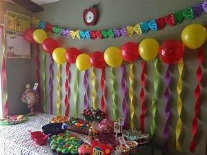 Birthday room decorated images, birthday decorating ideas