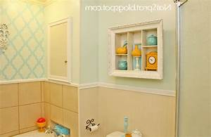 Wall designs for bathrooms : Bathroom wall decor home decorations