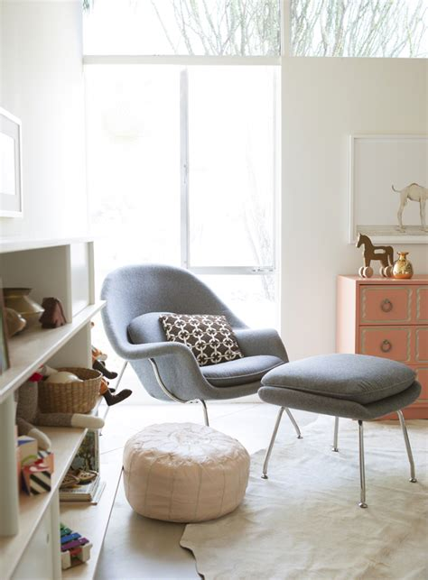 rove concepts womb chair a modern nursery with the