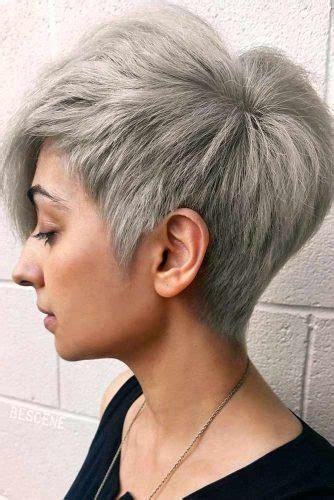 short grey hair cuts  styles lovehairstylescom
