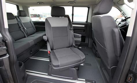 volkswagen van inside car and driver