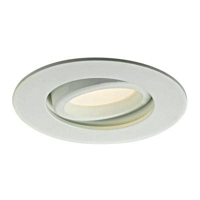 directional can lights illume lighting 3 37 in white recessed led directional