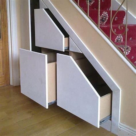 stair shelves shelf under stair storage ideas interior pinterest