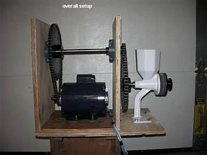 Motorizing The Wonder Junior Grain Mill  Wondermill Company