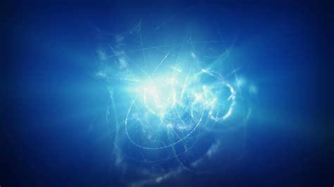 Blue Light Energy by Blue Energy Background Blue Shining Plasma Background