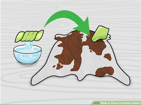 How To Clean Cowhide by How To Clean Cowhide Leather 13 Steps With Pictures