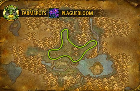 farming plaguelands classic western wow farm warcraft professions goldgoblin guide