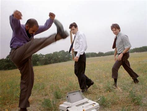 Office Space Meme - office space printer smash meme generator