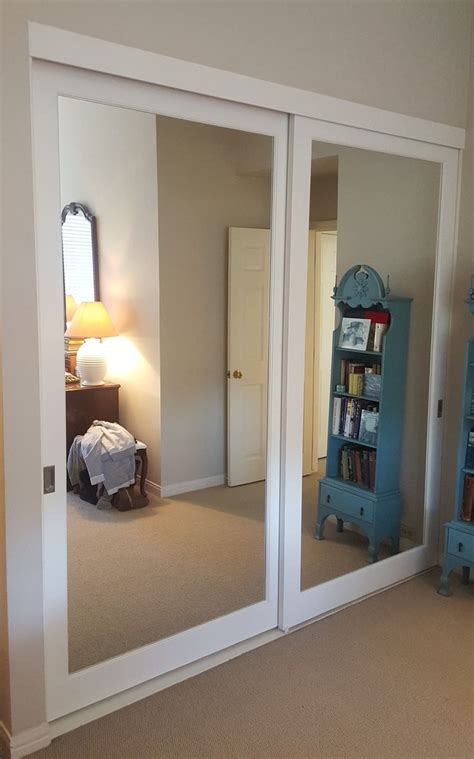 mirror closet sliding doors installing sliding closet doors for design ideas and