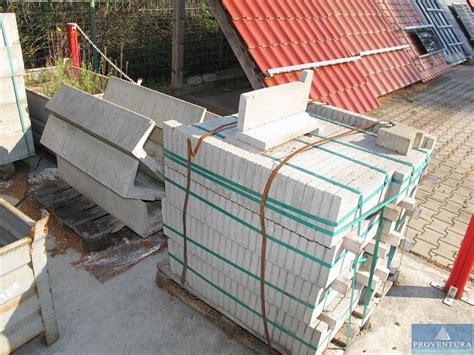 randsteine beton grau proventura auktion