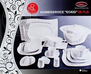 Geschirrset Für 12 Personen : kombiservice 86tlg f r 12 personen euro price talay ~ Orissabook.com Haus und Dekorationen